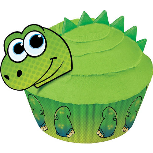 Wilton Dinosaur Cupcake Decorating Kit Image #2