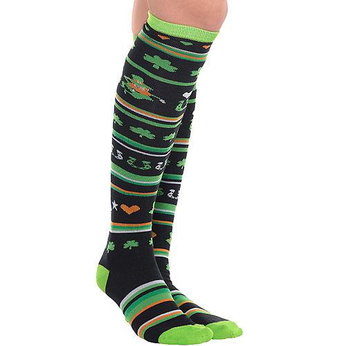 St. Patrick's Day Knee-High Socks Image #1