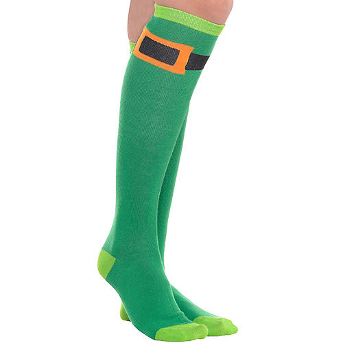 Leprechaun Knee-High Socks Image #1