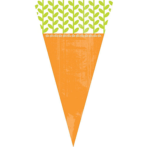 Carrot Cone Treat Bags 15ct Image #1