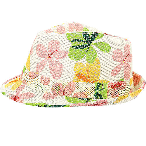 Summer Flower Fedora Image #1
