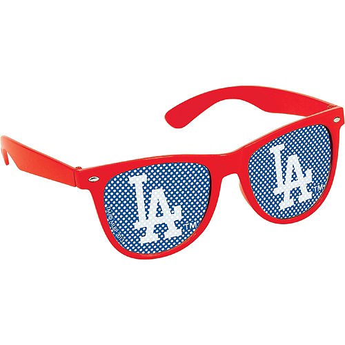 Los Angeles Dodgers Printed Glasses 10ct Image #3