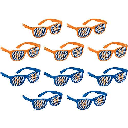 New York Mets Printed Glasses 10ct Image #1