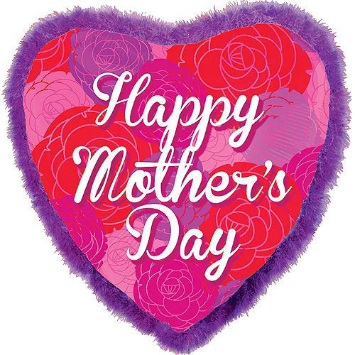 Foil Boa Mother's Day Balloon 32in, 32in Image #1