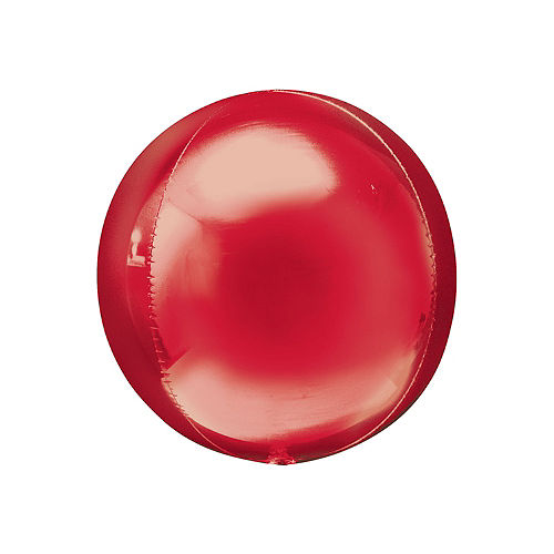 Red Orbz Balloon, 16in Image #1