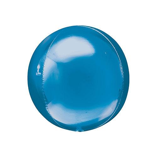 Blue Orbz Balloon, 16in Image #1