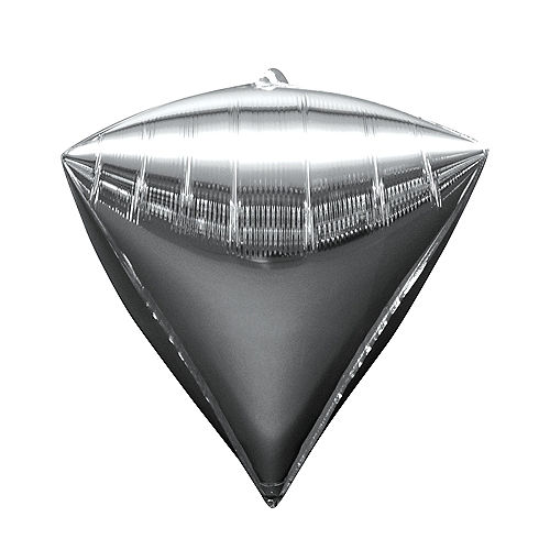 Silver Diamondz Balloon Image #1