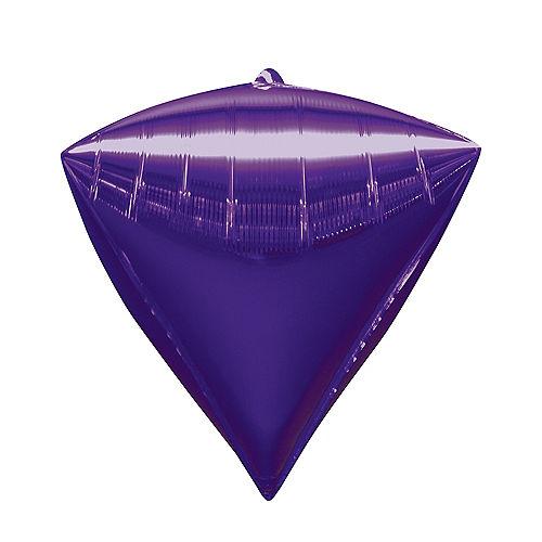 Purple Diamondz Balloon Image #1
