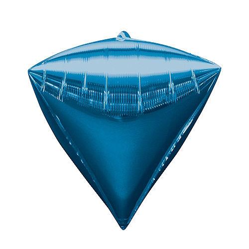 Blue Diamondz Balloon Image #1
