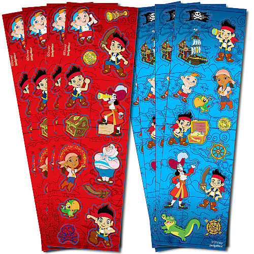 Jake and the Never Land Pirates Stickers 8 Sheets Image #1