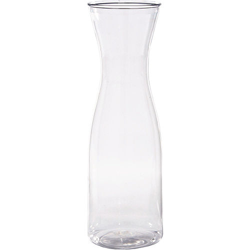 CLEAR Plastic Carafe Image #1