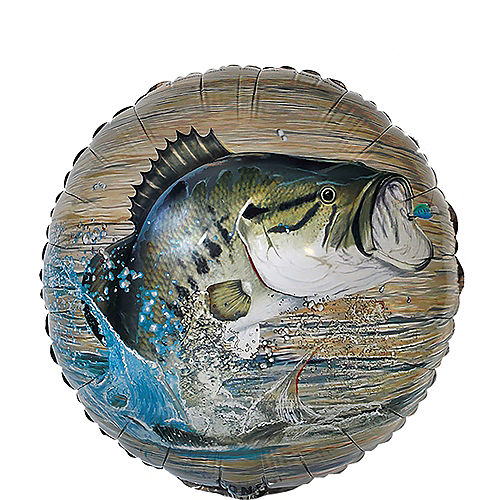 Gone Fishing Balloon Image #1