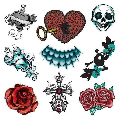 Gothic Tattoos 1 Sheet Image #1