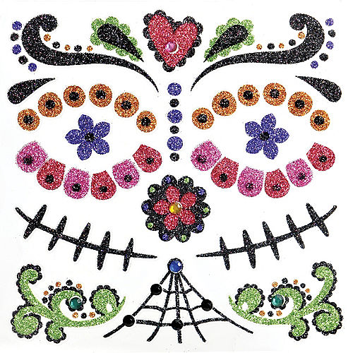 Day of the Dead Body Jewelry Pack Image #1