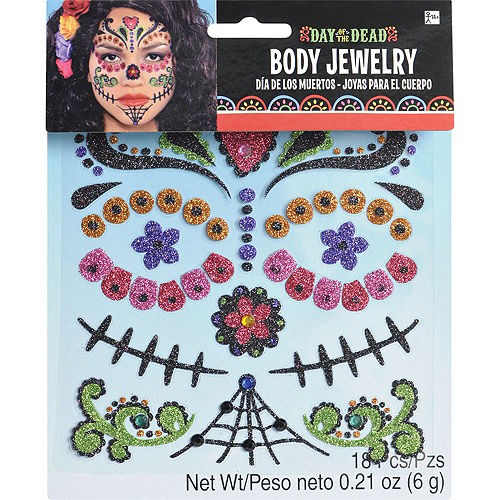Day of the Dead Body Jewelry Pack Image #3