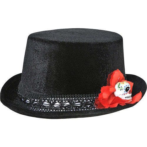 Day of the Dead Top Hat Image #1