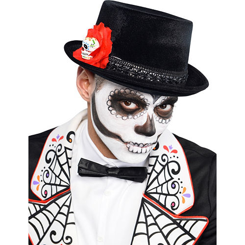 Day of the Dead Top Hat Image #2