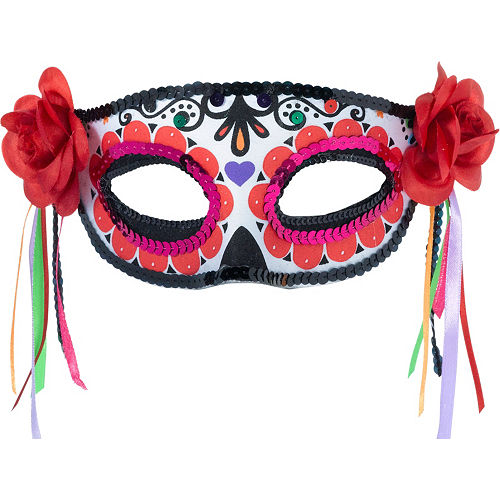 Day of the Dead Masquerade Mask Image #1