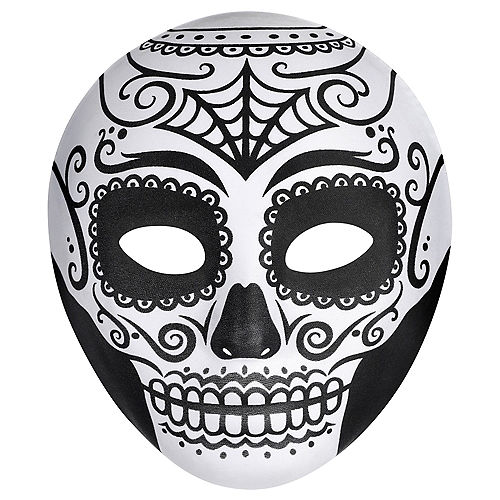 Day of the Dead Face Mask Image #1
