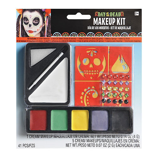 Day of the Dead Makeup Kit Image #1