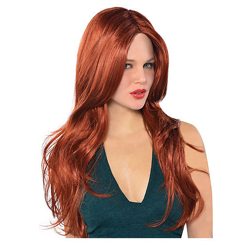 Hot Honey Red Wig Image #1