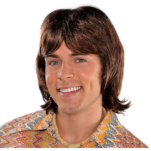 70s Heartthrob Wig Image #1