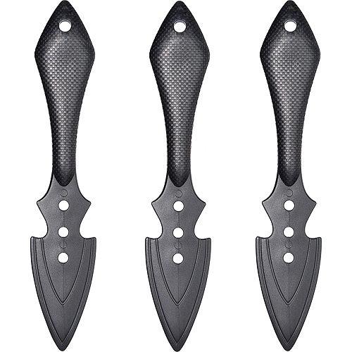Ninja Throwing Knives 3ct Image #2
