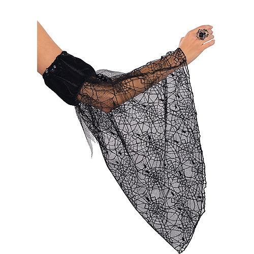 Draped Spider Web Sleeves Image #1