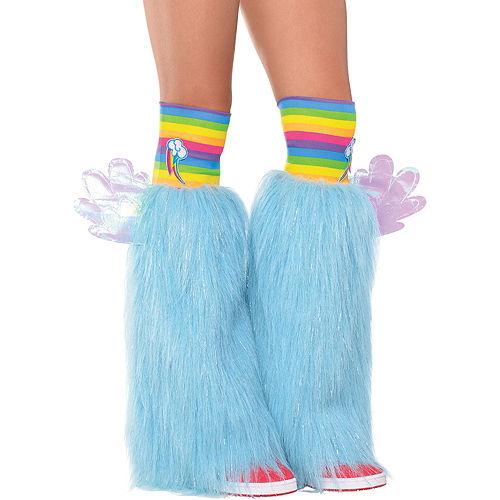 Rainbow Dash Furry Leg Warmers - My Little Pony Image #1