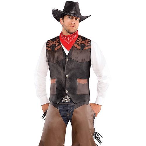 Cowboy Vest Deluxe Image #1