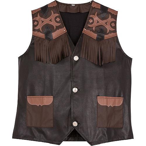 Cowboy Vest Deluxe Image #2
