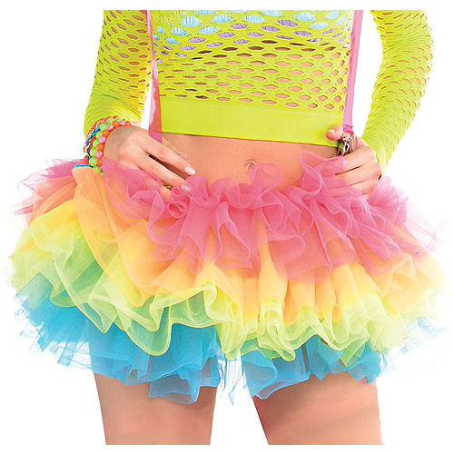 Electric Party Tutu with Suspenders Image #1