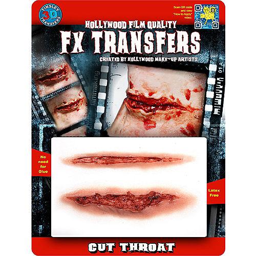 Cut Throat Prosthetics- Tinsley Transfers Image #2