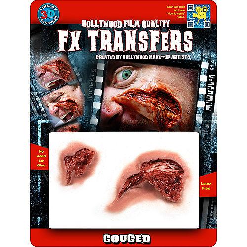 Gouged Flesh Prosthetics- Tinsley Transfers Image #2