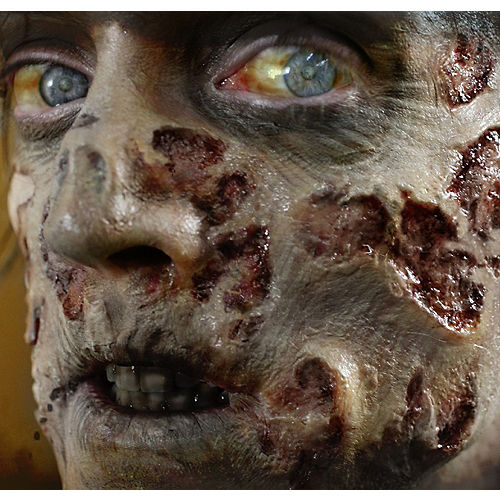 Zombie Rot Wound Prosthetics 4ct- Tinsley Transfers Image #1