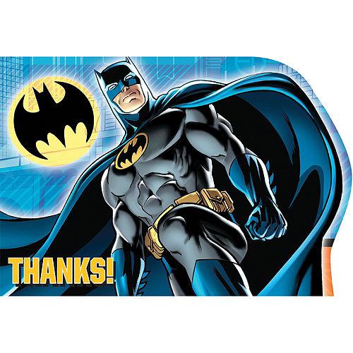 Batman Thank You Notes 8ct Image #1