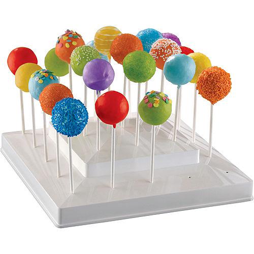 White Lollipop Stand Image #1