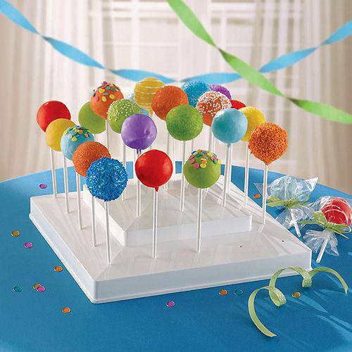 White Lollipop Stand Image #2