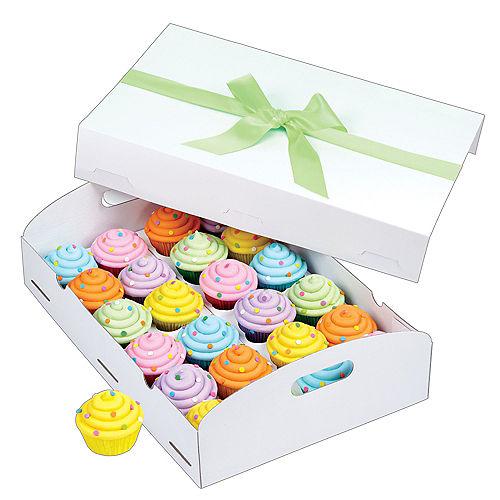 Wilton White Folding Tray Cupcake Box Image #1