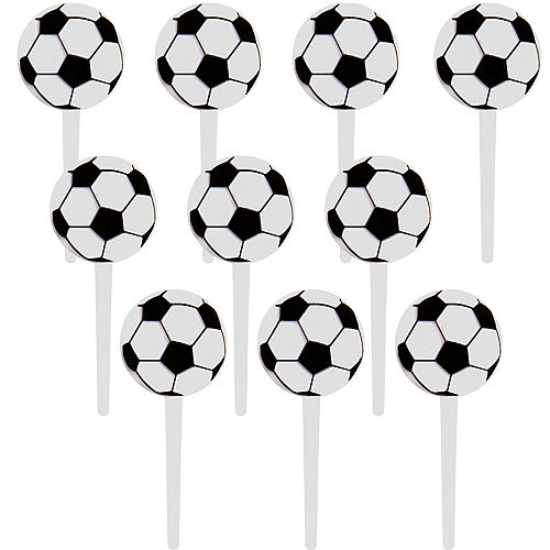 Soccer Party Picks 36ct Image #1