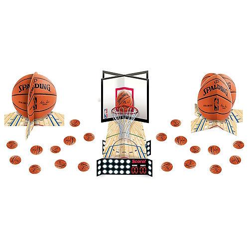 Spalding Basketball Table Decorating Kit 23pc Image #1