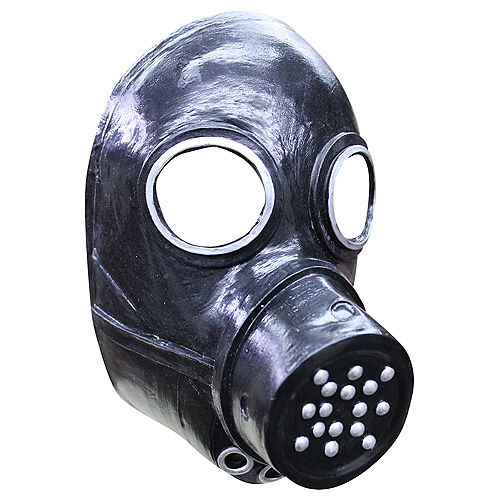 Latex Gas Mask Image #1