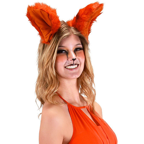 Oversized Red Fox Ears Image #2