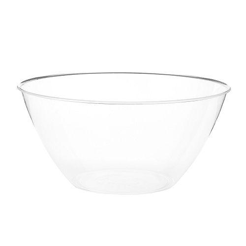 Medium CLEAR Plastic Bowl Image #1