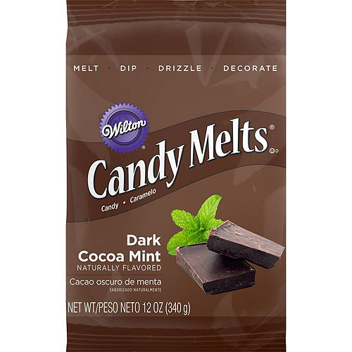 Wilton Dark Cocoa Mint Candy Melts Image #1