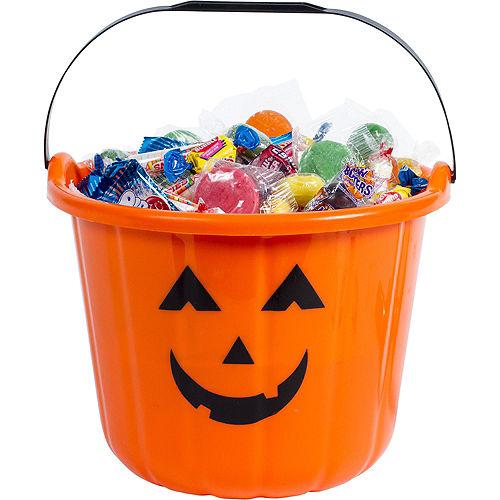 Orange Jack-o'-Lantern Treat Bucket Image #2