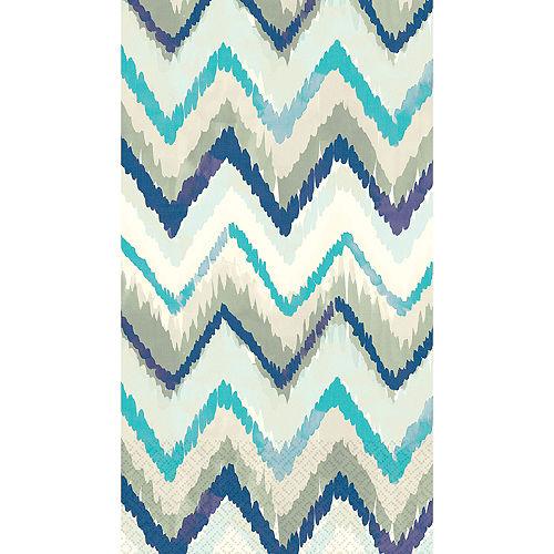 Seaside Stripe Guest Towels 16ct Image #1