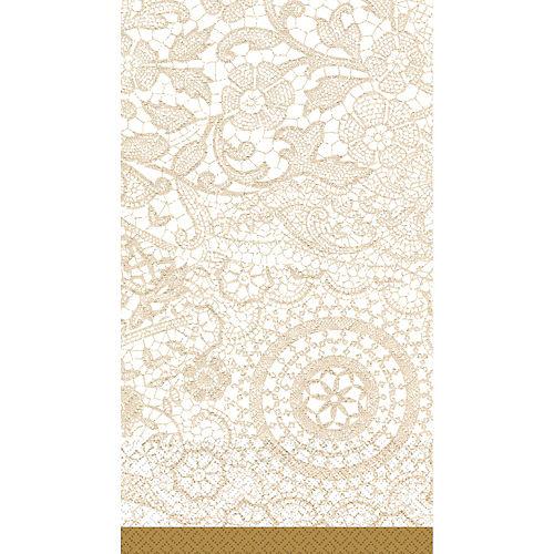 Delicate Lace Guest Towels 16ct Image #1