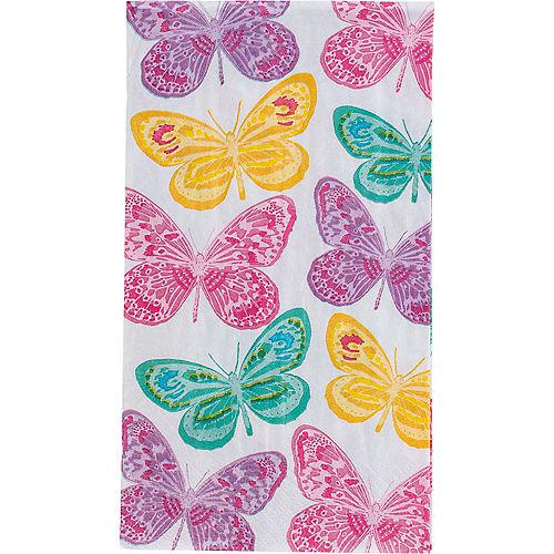 Beautiful Butterflies Guest Towels 16ct Image #1