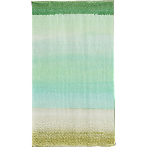 Beach Glass Guest Towels 16ct Image #1